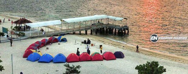 Camping Pulau Kelor