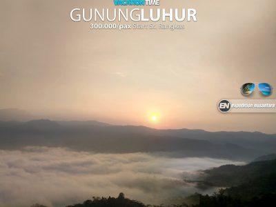 Open Trip Gunung Luhur Citorek, Banten
